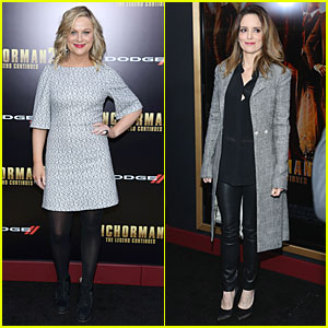Amy Poehler & Tina Fey: 'Anchorman 2' NYC Premiere!