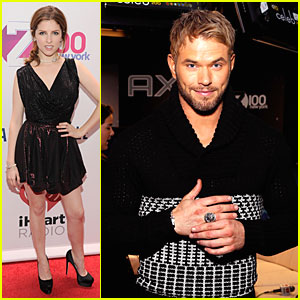 Anna Kendrick & Kellan Lutz: Z100's Jingle Ball 2013 Attendees!