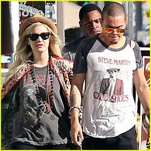 Ashlee Simpson & Evan Ross: Sunday Shopping Sweethearts!