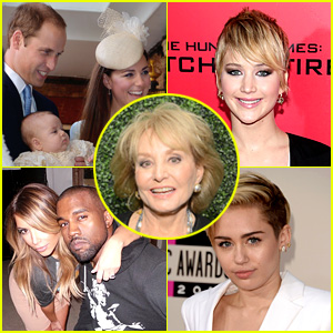 Barbara Walters' Most Fascinating People 2013 List Revealed!