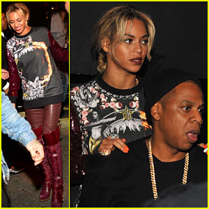 Beyonce: Magna Carter World Tour After Party with Jay Z!