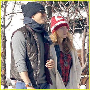 Blake Lively & Ryan Reynolds Visit a Comedy Club in Aspen!