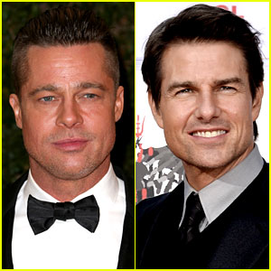 Brad Pitt Joining Tom Cruise in 'Go Like Hell' Racing Movie?