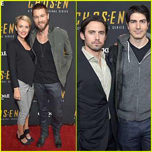 Chad Michael Murray & Nicky Whelan: 'Chosen' Season 2 Premiere!