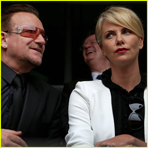Charlize Theron Pays Respects at Nelson Mandela's Memorial Service