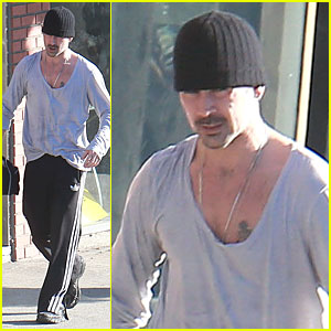 Colin Farrell Talks Losing Virginity on 'Jimmy Kimmel Live'!