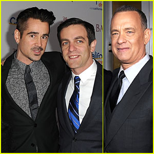 Colin Farrell & Tom Hanks: 'Saving Mr. Banks' L.A. Premiere!