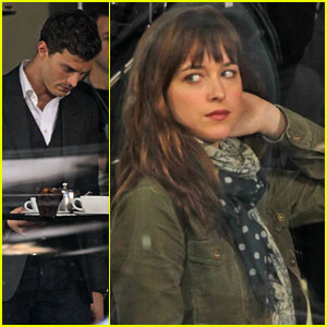 Dakota Johnson: First 'Fifty Shades of Grey' Scenes!