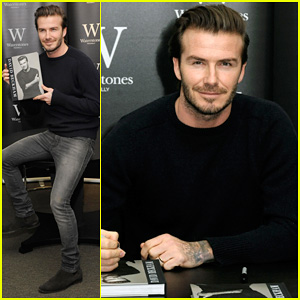 David Beckham: London Book Signing!