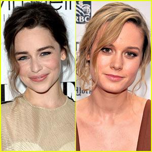 Emilia Clarke & Brie Larson: 'Terminator 5' Sarah Connor Frontrunners?