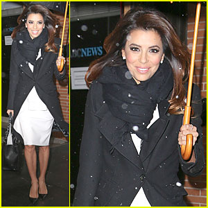 Eva Longoria Helps End World Hunger with Howard Buffett!