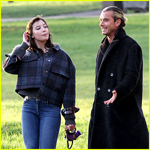 Gavin Rossdale Spends Time with Daughter Daisy Lowe