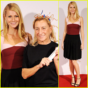 Gwyneth Paltrow - British Fashion Awards 2013