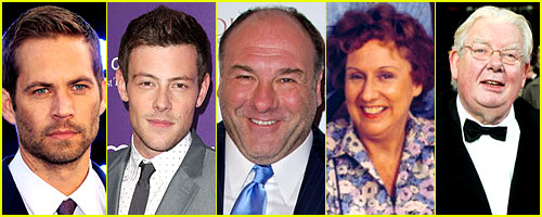 In Remembrance: Celebrity Deaths in 2013