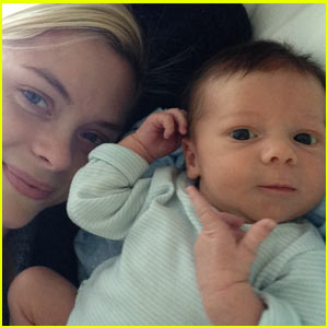 Jaime King: James Knight Newman's First Photo! (Exclus