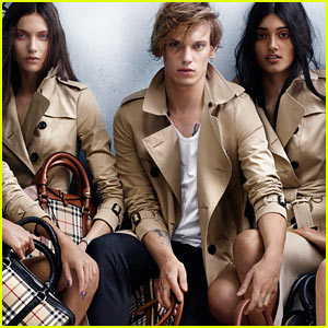 Jamie Campbell Bower: Burberry Spring/Summer 2014 Campaign