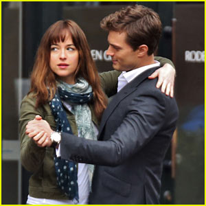 Jamie Dornan & Dakota Johnson Dance for 'Fifty Shades of Grey'!