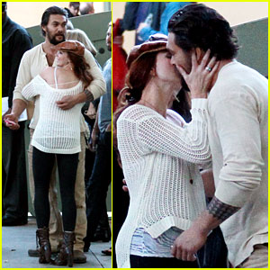 Jason Momoa: Beverly Hills Party with Mystery Redhead!