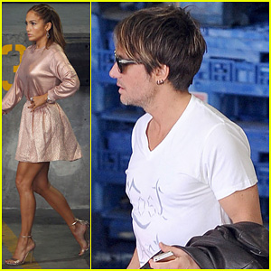 Jennifer Lopez & Keith Urban: 'American Idol' Hollywood Auditions!