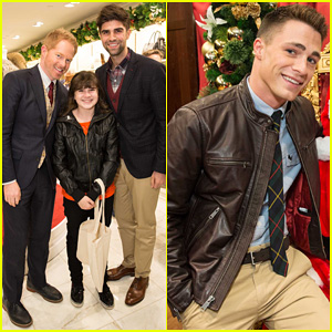 Jesse Tyler Ferguson & Colton Haynes: Brooks Brothers' Holiday Celebration
