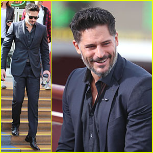 Joe Manganiello: 'Evolution' Promo on 'Extra' Appearance!