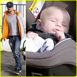 Josh Duhamel: Axl is a Sweet Cutie!