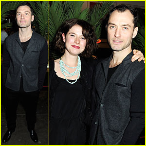 Jude Law: 'Henry V' Press Night Performance After Party!