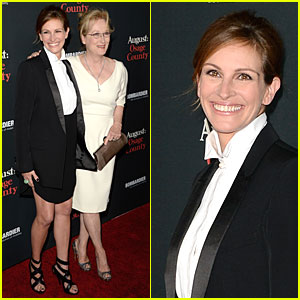 Julia Roberts & Meryl Streep: 'August: Osage County' L.A. Premiere!