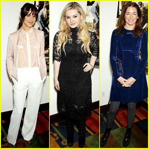 Juliette Lewis & Abigail Breslin: 'August' NYC Luncheon!
