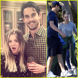 Kaley Cuoco & Ryan Sweeting Celebrate 1st Christmas Together!