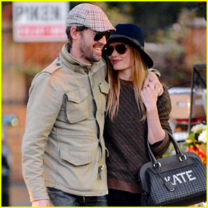 Kate Bosworth & Michael Polish Get Affectionate for Errand Run