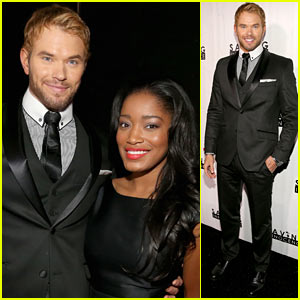 Kellan Lutz: Saving Innocence Gala with Keke Palmer!
