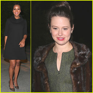 Kerry Washington & Katie Lowes: Calabasas Party Pair!
