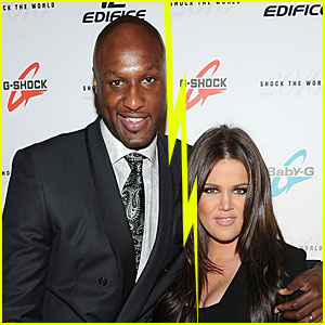 Khloe Kardashian & Lamar Odom Split After 4 Years of Marriage