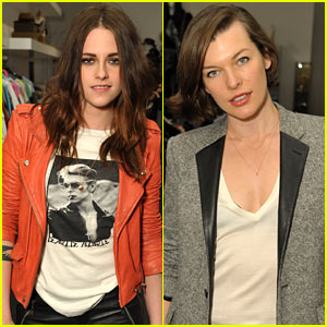 Kristen Stewart: Jillian Dempsey's Jewelry Launch Party!