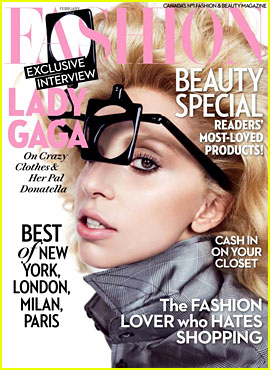 Lady Gaga Covers 'Fashion' Magazine February 2014