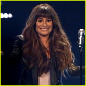 Lea Michele Performs 'Cannonball' on 'X Factor' - Watch Now!