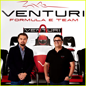 Leonardo DiCaprio Launches Race Car Team with Venturi!