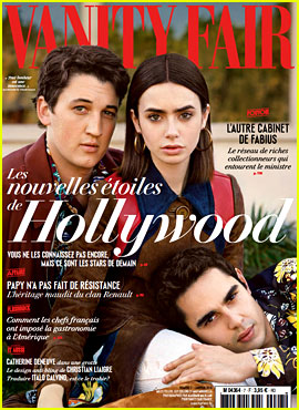 Lily Collins & Max Minghella Cover 'Vanity Fair France' New Hollywood Issue!