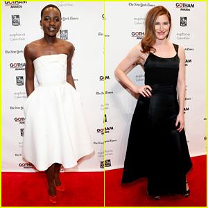Lupita Nyong'o & Kathryn Hahn: Gotham Film Awards!