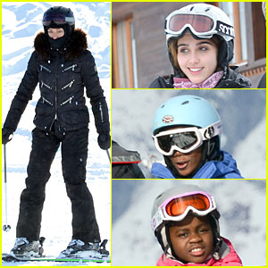 Madonna: We Go Hard in Snowy Switzerland!