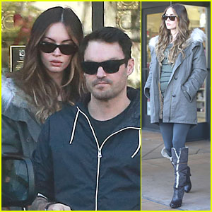 Megan Fox & Brian Austin Green: Planet Beauty Shopping Pair!