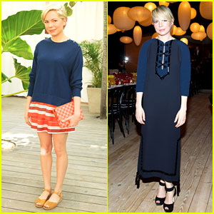 Michelle Williams Celebrates Art Basel with Louis Vuitton