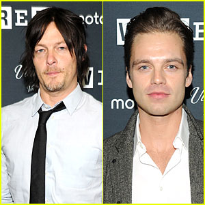 Norman Reedus & Sebastian Stan: Wired Store Opening!