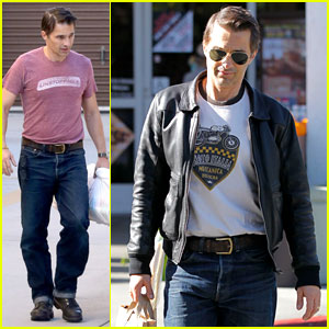 Olivier Martinez: Busy Weekend Running Errands