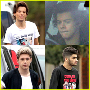 One Direction: 'Midnight Memories' Video Shoot Continues!