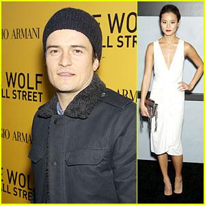 Orlando Bloom & Jamie Chung: 'Wolf of Wall Street' Premiere!