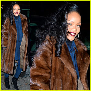 Rihanna Celebrates Thirteenth Number