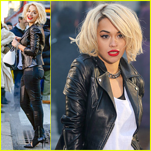 Rita Ora: DKNY Fashion Shoot in NYC!