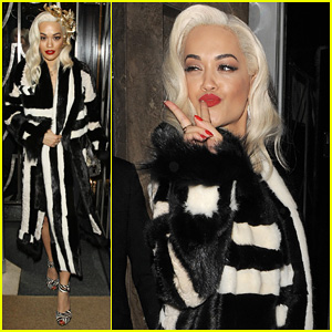 Rita Ora Steps Out After 'Fifty Shades' Casting News!